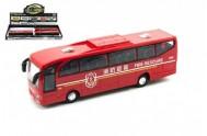 Autobus plast 23cm na setrvačník se zvukem se světlem