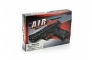 Pistole na kuličky 17cm + kuličky plast v krabici