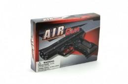 Pistole na kuličky 17cm + kuličky plast v krabici - Rock David