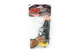 Pistole na kuličky 15cm + kuličky plast v sáčku - Rock David