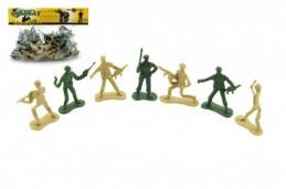 Sada vojáci plast v sáčku 28x25cm - Rock David
