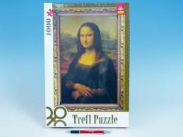 Puzzle Mona Lisa 1000 dílků v krabici - Rock David