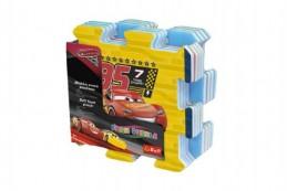 Pěnové puzzle Cars 3/Auta 32x32x1,5cm 8ks v sáčku - Rock David