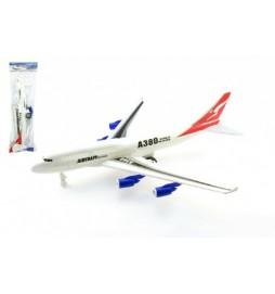 Letadlo plast 46cm na zpětné natažení v sáčku