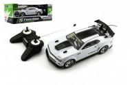 Auto RC 25cm plast zrychlující 1:18 na baterie 27MHz v krabici 35x13x15cm