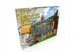 Hrad rytířský plast 115ks s doplňky v krabici 61,5x49x8,5cm - Rock David