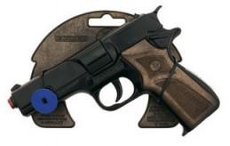 Policejní pistole černá kovová 8 ran - Renčín Vladimír