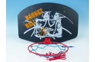Koš na basketbal dřevo/kov 60x42cm v sáčku