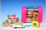 Mazlíček Leah 11cm VIP PETS s kufříkem a doplňky v krabičce
