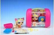 Mazlíček April 11cm VIP PETS s kufříkem a doplňky v krabičce