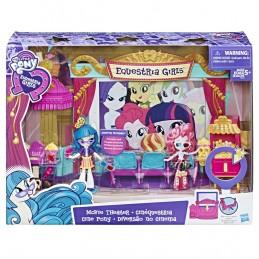 My Little Pony Equestria girls Tematický hrací set - kino - Renčín Vladimír