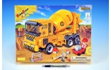 Stavebnice BanBao Auto Míchačka stavební 315ks + 3 figurky v krabici 37,5x28,5x6cm