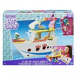 Littlest Pet Shop Hrací set - výletní loď se 3 zvířátky - Renčín Vladimír