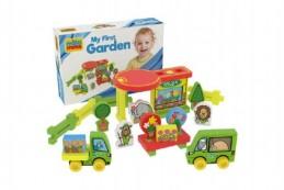 Moje první zahrada pěna 25ks v krabici 30x20x7cm 0+ - Rock David