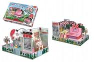 Skládačka prostorová Obchod Myšky Minnie v krabici 40x27x6cm