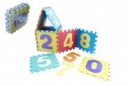 Pěnové puzzle čísla 10 ks