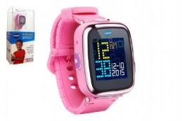 Kidizoom Smart watch DX7 Vtech chytré hodinky růžové 5cm na baterie v krabičce 13x28cm - Rock David