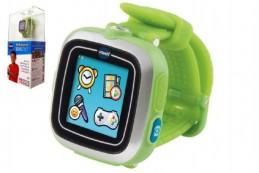 Kidizoom Smart watch DX7 Vtech chytré hodinky zelené 5cm na baterie v krabičce 13x28cm - Rock David