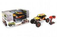 Auto RC Rock Buggy Goliash plast 45cm s adaptérem 24MHz 4x4 offroad na baterie v krabici