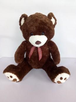 Plyšový medvídek tmavě hnědý 70 cm - Renčín Vladimír