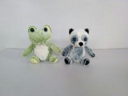 Zvířata plyšová (panda, žába) 20 cm - Renčín Vladimír
