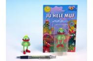 Postavička Muf plast 7cm stojící na kartě Jů a Hele