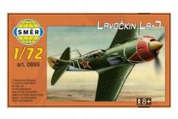 Model Lavočkin La-7 1:72 13,6x11,9cm v krabici 25x14,5cm - Rock David