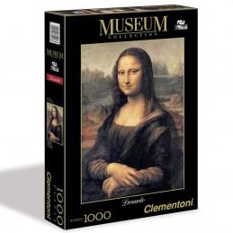 Puzzle Museum 1000 dílků Leonardo - Mona Lisa - Renčín Vladimír