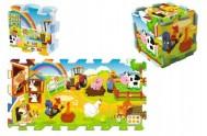 Pěnové puzzle Farma 8ks 32x34cm v sáčku