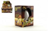Dinosaurus velký líhnoucí a rostoucí z vajíčka 11cm v krabičce