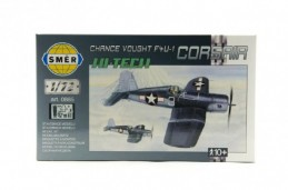 Model Chance Vought F4U-1 Corsair HI TECH 1:72 14,1x1,73cm v krabici 25x14,5x4,5cm - Rock David