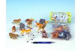 Zvířátka safari plast 6,5-9cm 12ks v sáčku
