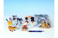 Zvířátka Farma plast 5-9cm, 12 druhů, 12ks v sáčku