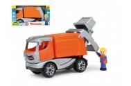 Auto popeláři Truckies plast 25cm v krabici 24m+
