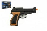 Pistole na kuličky 13cm + kuličky plast v krabičce 14x10x3cm