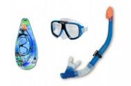 Potápěčská sada brýle+šnorchl na kartě 22x50cm 8+