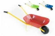 Plechové kolečko 75x30x40cm 3 barvy v sáčku - 1 kus