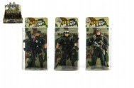 Voják figurka plast 10cm asst v krabičce