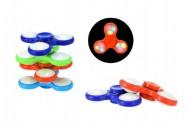 Fidget Spinner asst 6 druhů na baterie