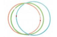 Obruč Hula Hop plast průměr 60cm asst 6 barev
