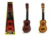 Kytara s trsátkem plast 40cm asst 3 barvy v krabici