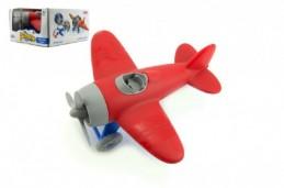 Letadlo plast 20cm v krabici - Rock David