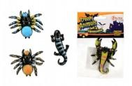 Pavouk sliz 6cm asst 4 druhy