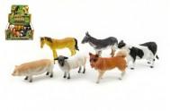 Zvířátko farma plast 11cm mix (1 kus)