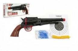 Pistole na měkké a vodní kuličky o průměru 6mm v krabici 33x14x5cm - Rock David