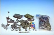 Sada vojáci - 2 tanky + 2 vojska 53ks v sáčku