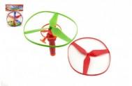 Vystřelovací vrtulky 3 ks + startér plast v sáčku