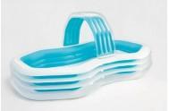 Bazén dětský s tryskou nafukovací 310x188x130 cm 3+