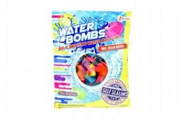Vodní bomby +/-100ks se samotěsnícím úzávěrem a nástavcem na kohoutek v sáčku - Rock David