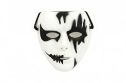 Maska plast 18cm v sáčku karneval - Rock David